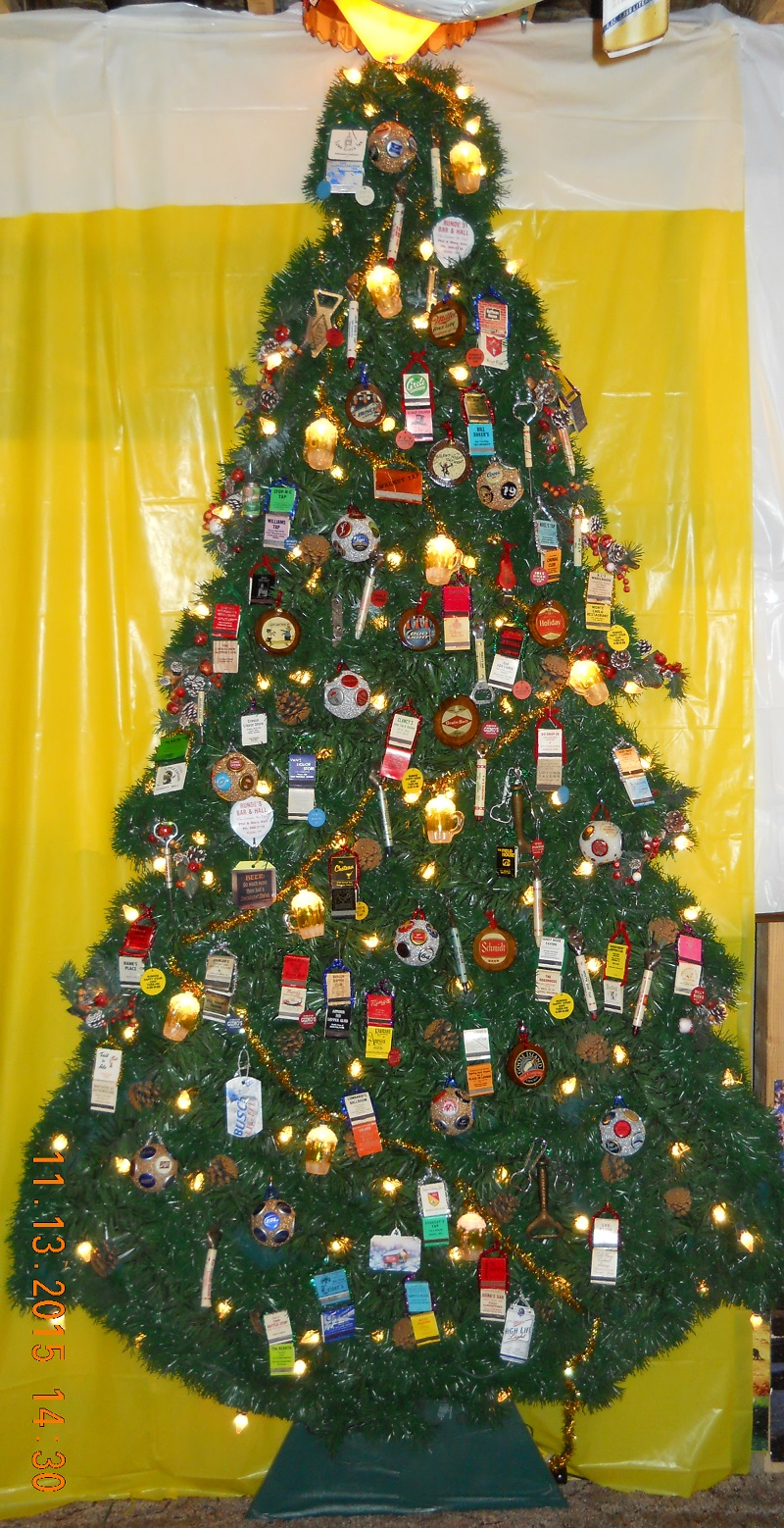 Tom S Beer Bottle Christmas Tree 2015