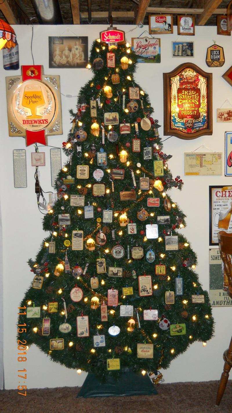 Tom S Beer Bottle Christmas Tree 2018