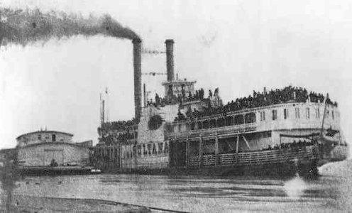 the Sultana Steamer