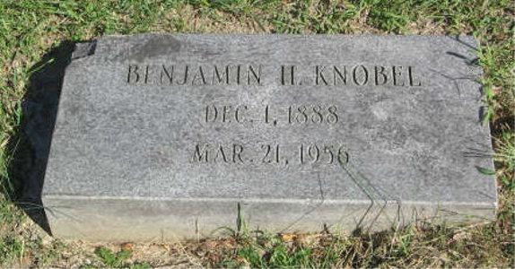 Benjamin Knobel tombstone