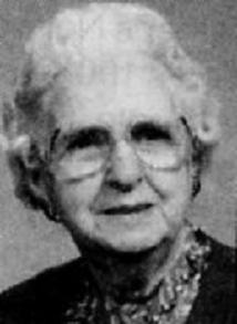Bertha (Lill) Gamber