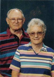 Clarence Theodore & Florence Bernice (Bocker) Enge