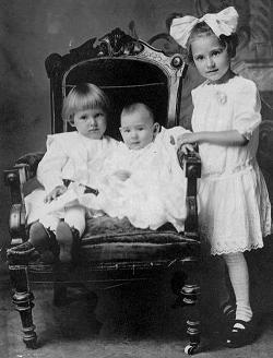 Frances, Maurice & Agnes Kastner