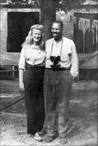 Helen Canfield (Peck) & Frank Marshall Davis