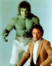 the Hulk w/Bill Bixby