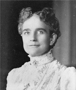 First Lady Ida Saxton McKinley