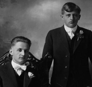 John and Frank Sevcik abt 1920