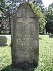 LeBaron Bradford Colt tombstone