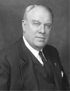 Gov. Raymond Earl Baldwin