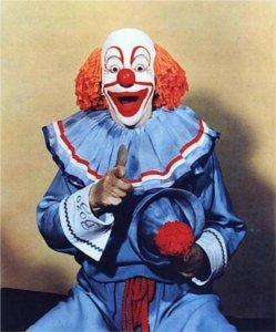 Vance Colvig as 'Bozo the Clown'