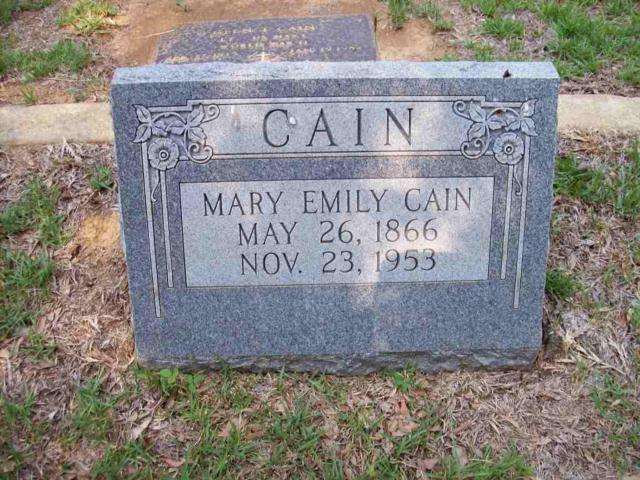- CAIN_Mary_Emily
