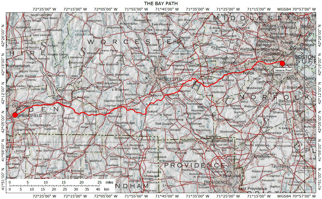Historic Routes in the Northeastern U S