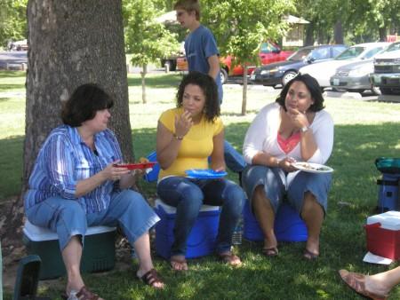 Teresa, Evelynn and Andria