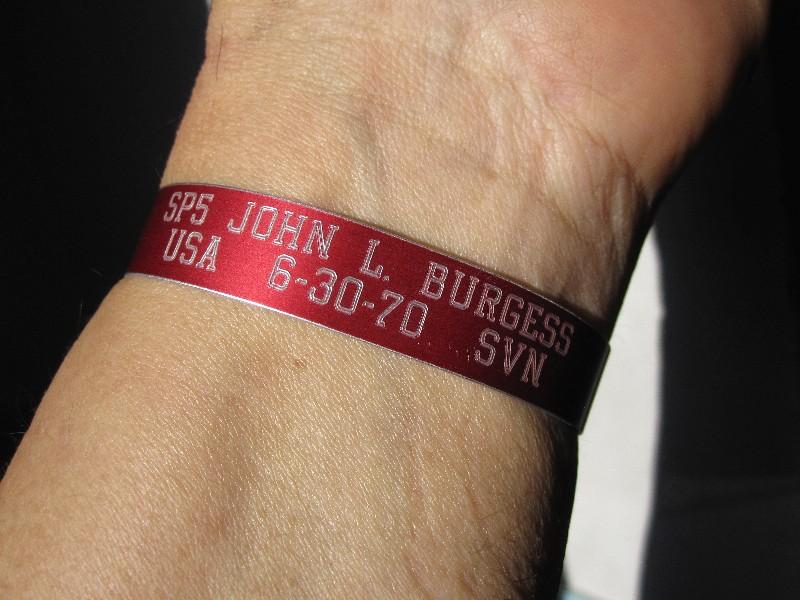 bracelet returned March 2014