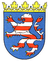 Das Wappen von Hessen