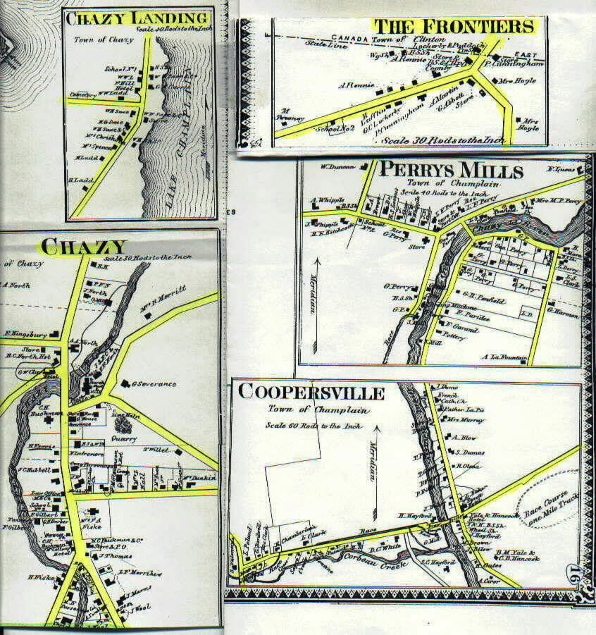 Champlain Chazy Villagechazy town