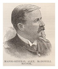 Major-General Alex. McDowell McCook.